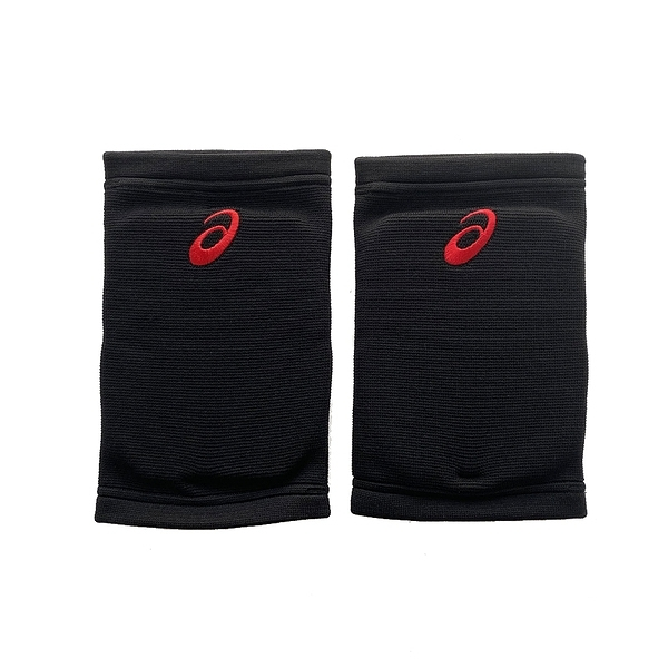 Asics Volleyball Knee Pads [Z11906-9023] 護膝 排球 運動 防護 透氣 黑紅