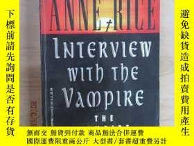二手書博民逛書店ANNE罕見RICE INTERVIEW WITJ THE VA