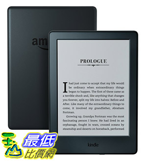 "[美國代購] All-New Kindle E-reader - Black, 6"" Glare-Free Touchscreen Display"