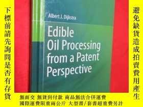 二手書博民逛書店Edible罕見Oil Processing from a Pa