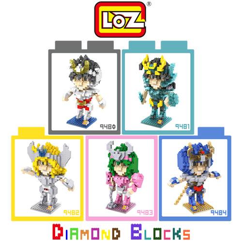 摩比小兔~ LOZ 鑽石積木 9480-9484 電影卡通系列 腦力激盪 益智玩具