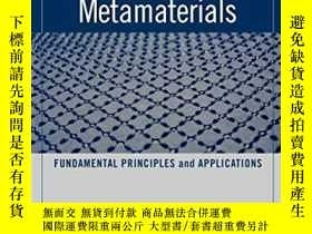 二手書博民逛書店N罕見egative-refraction Metamaterials: Fundamental Principl