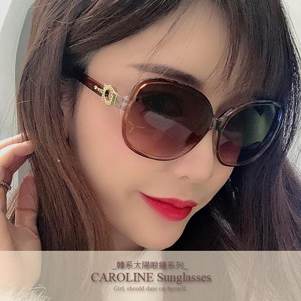 《Caroline》年度最新網紅款潮流百搭抗UV時尚太陽眼鏡 72113
