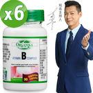 ★團購優惠★【Organika優格康】高單位維生素B群素食膠囊(60顆) 超值6入組