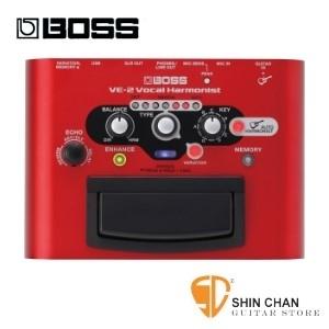 【預購】BOSS VE-2 錄音室等級人聲合音效果器【VE2/Vocal Harmonist】