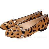 Charlotte Olympia Kitty 鬣狗印花馬毛貓咪樂褔鞋(駝色) 1540729-02