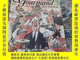 二手書博民逛書店Humour罕見Gourmand (French Edition