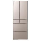 【HITACHI 日立 日本原裝】607公升變頻六門電冰箱 RHW610JJ-XN 琉璃金 比漾廣場