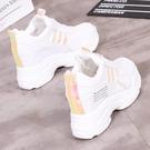 運動鞋 內增高小白鞋女新款韓版百搭ins女鞋網紅女鞋老爹跑步運動鞋 探索