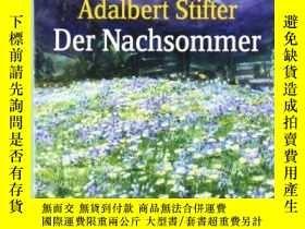 二手書博民逛書店Der罕見NachsommerY364682 Adalbert Stifter Albatros Im Pat