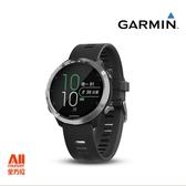 限定下標【Garmin】Forerunner® 645 Music GPS音樂運動 跑錶-黑色加購灰色錶帶