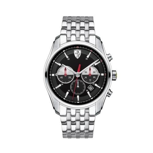 FERRARI 速度時尚計時三眼腕錶/42mm/0830197