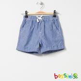 印花輕便短褲07天藍-bossini女童