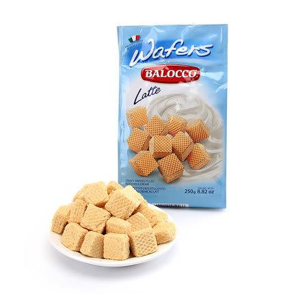 Balocco百樂可威化餅-牛奶250g【合迷雅好物超級商城】