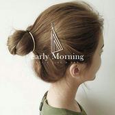 ✡歐美版✡ early Morning - 漸變個性三角幾何髮夾 歐美時尚 摩登極簡 ASOS同款【CR099】