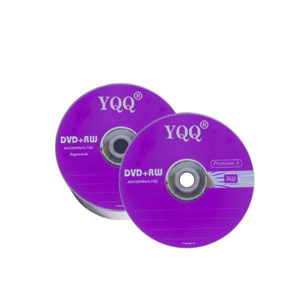 CD刻錄盤  YQQ原裝反復可擦寫光盤DVD-RW刻錄盤dvd rw空白光碟4.7G! 可可鞋櫃