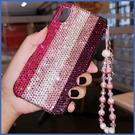 蘋果 iPhone13 iPhone12 i11 12 mini 12 Pro Max SE XS IX XR i8+ i7 i6 粉條滿鑽 手機殼 水鑽殼 訂製