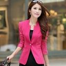 西裝外套-時尚潮流蕾絲修身顯瘦大碼女外套3色71n41【巴黎精品】