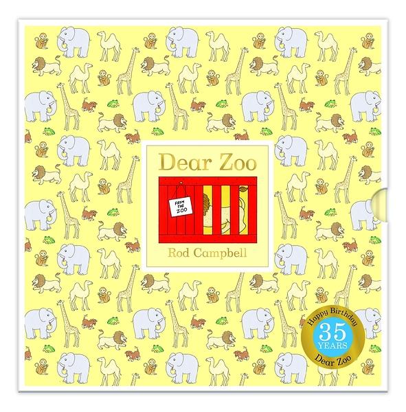 Dear Zoo 35th 可愛動物園35週年版 精裝翻翻書