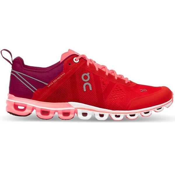 【瑞士 ON】女 Cloudflow 流星雲 跑鞋『寶石紅』15.1563 多功能鞋.野跑鞋 越野鞋 慢跑鞋 馬拉松