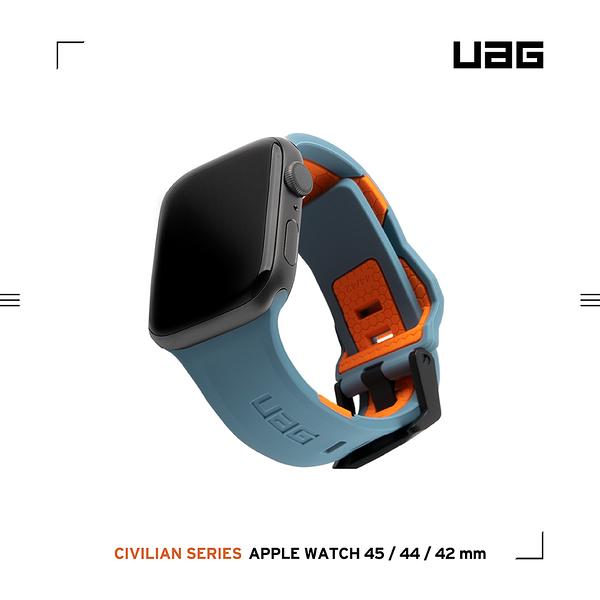 UAG Apple Watch 42/44/45mm 簡約舒適錶帶-藍