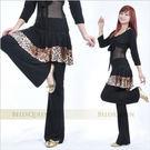 豹紋邊黑色褲裙.演出服飾.肚皮舞蹈服飾配件.中東肚皮舞.推薦哪裡買專賣店.品牌特賣會