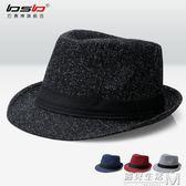 韓版潮夏天男士帽子秋冬舞台遮陽爵士帽遮陽帽女英倫禮帽情侶帽子  遇見生活