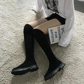 長筒ins網紅瘦瘦靴女英倫風百搭過膝長靴2019新款秋冬季彈力襪靴