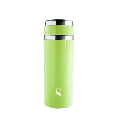【等一個人咖啡】ikuk艾可陶瓷輕量隨行杯250ml-湖水綠