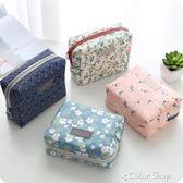 可愛便攜化妝包女大容量化妝品收納盒簡約護膚品袋旅行防水手提包color shop