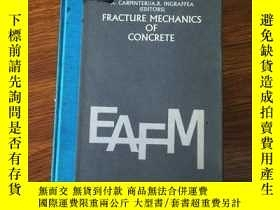 二手書博民逛書店Fracture罕見mechanics of concrete: Material characterizatio