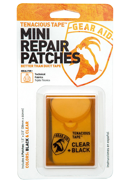 【速捷戶外】美國 McNETT GEARAID 10760 迷你修補包,可以使用在帳篷、防水布、雨衣等