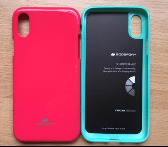 King*Shop~韓國GOOSPERY iphone x 手機殼 保護套 閃粉防摔手機套
