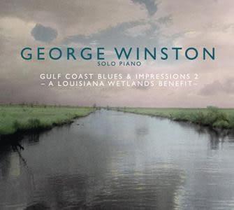 喬治溫斯頓 憂傷海岸線第二輯 CD 路易斯安那濕地鋼琴獨奏公益專輯 (音樂影片購)