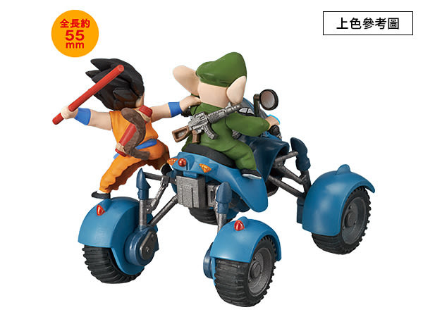 七龍珠 萬代 BANDAI 組裝模型 載具收藏集 Vol.6 烏龍的公路沙灘車