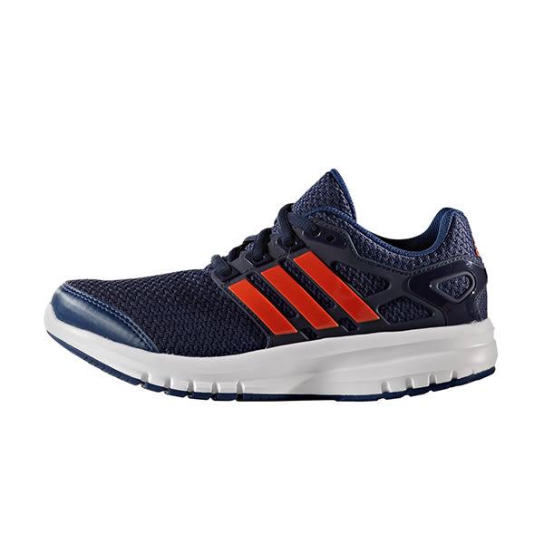 Adidas ENERGY CLOUD K 輕量透氣慢跑鞋 女 大童鞋 女孩 深藍 白 運動鞋 愛迪達 輕量 透氣 S76737