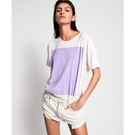 OneTeaspoon PURPLE TSHIRT T恤 - 白