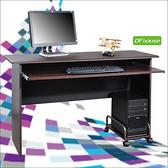 《DFhouse》黑森林電腦桌+主機架-2色胡桃色