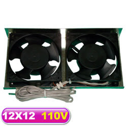 110V 系統散熱風扇 12X12*2