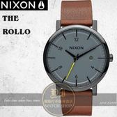 NIXON 實體店The Rollo簡約時尚腕錶A945-017公司貨/極限運動/禮物