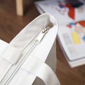 韓國版簡約帆布包單肩手提斜挎購物袋文藝女包學生書包百搭小清新 東京衣櫃