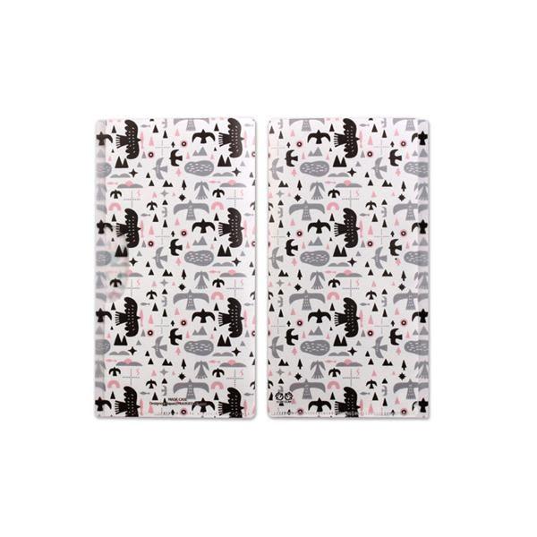 日本 Prairie Dog 抗菌口罩夾/鳥藝術
