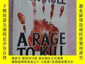 二手書博民逛書店英文原版-犯罪紀實文學插圖本罕見A Rage to kill,