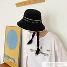 日系氣質女大沿防曬遮臉漁夫帽太陽帽顯臉小時尚百搭薄款帽子潮款  萬聖節狂歡