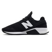 NEW BALANCE NB247 慢跑鞋網布襪套黑白 男款  NO.MS247EB