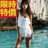 連身泳衣 泳裝-音樂祭海灘游泳必備比基尼新款極簡4色54g15【時尚巴黎】