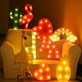 聖誕節狂歡創意卡通裝飾燈生日派對布置兒童房裝飾小夜燈擺件房間臥室裝飾 芥末原創