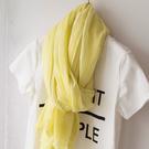 新款時尚棉質柔軟絲巾圍巾2 春夏新款空調披肩 防曬披肩