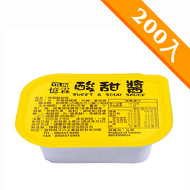 憶霖 酸甜醬(糖醋醬)(20g x 200盒/箱)