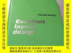 二手書博民逛書店Excellent罕見layout designY156452